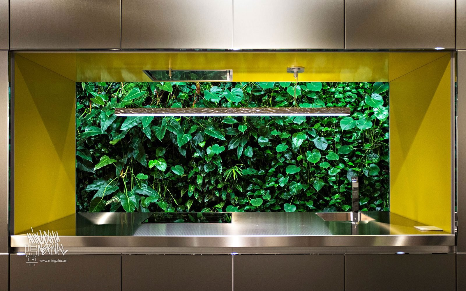 At Mingzhu Nerval, we thrive at creating the most beautiful vertical gardens in the world. For this luxury penthouse, we created a sophisticated living wall design – Shanghai, 2010.