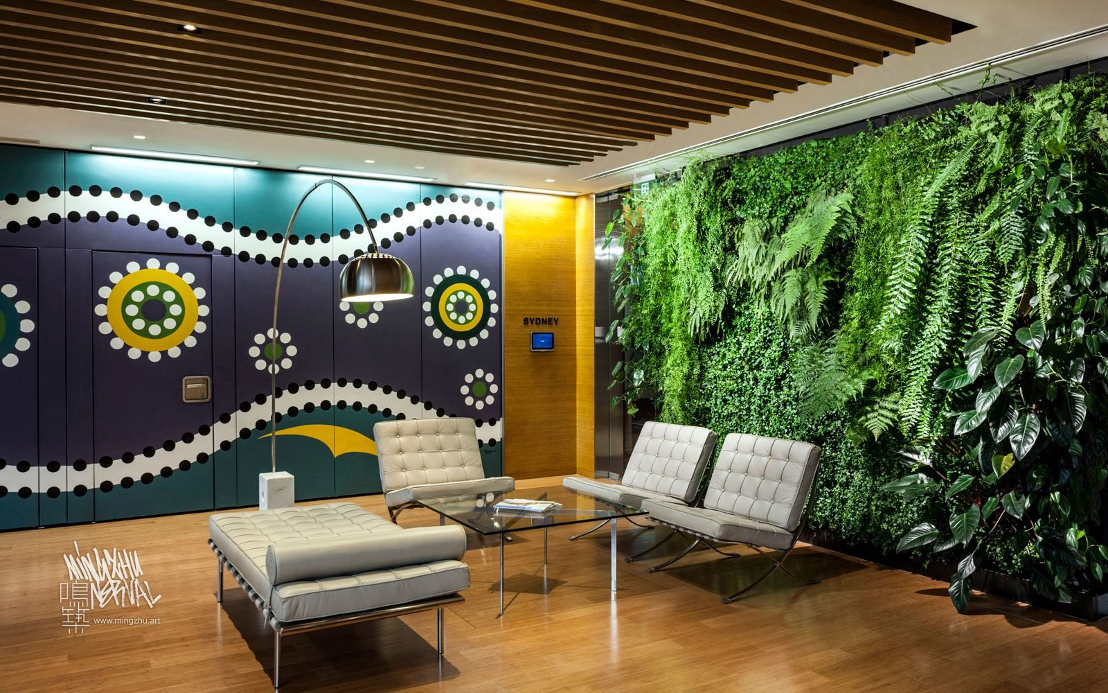 At Mingzhu Nerval, we thrive at creating the most beautiful vertical gardens in the world. For Lendlease, we created a special New Zealand living wall design - Shanghai, 2014.