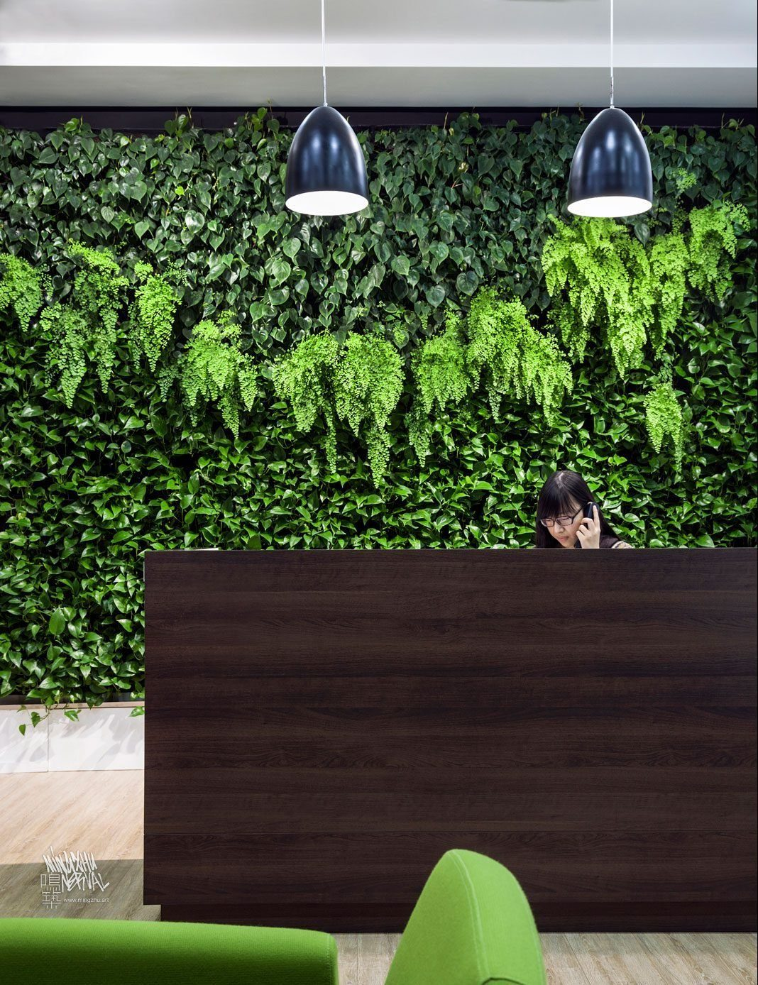At Mingzhu Nerval, we thrive at creating the most beautiful vertical gardens in the world. For SCA, we created a fresh living wall design - Shanghai, 2011.