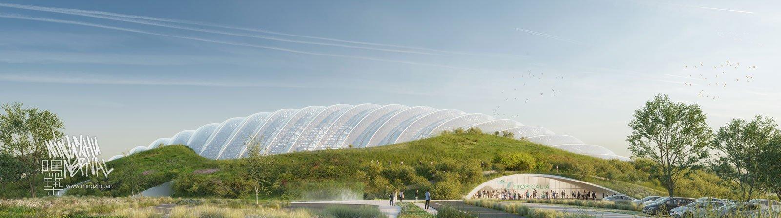 Botanical Garden by Mingzhu Nerval in France, 2023