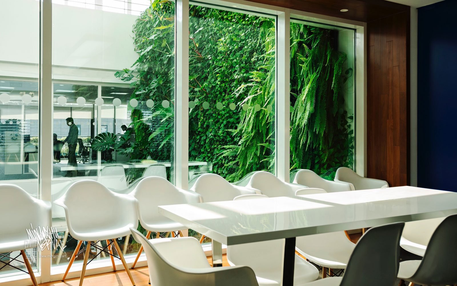 At Mingzhu Nerval, we thrive at creating the most beautiful vertical gardens in the world. For Clariant, we created a gorgeous living wall design - Shanghai, 2010.