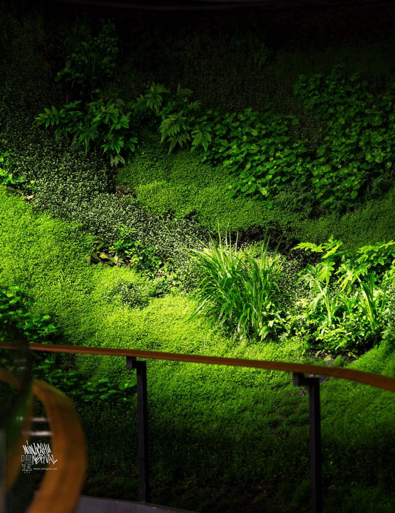 At Mingzhu Nerval, we thrive at creating the most beautiful vertical gardens in the world. For this private art foundation, we created a magical forest design - Chengdu, 2016.