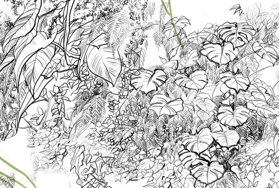 greenwall garden luxury design Mingzhu